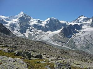Ober Gablehorn, Mont Durand and the Pointe de Zinal
