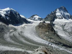Mount Durand, Pointe de Zinal and Dent Blanche