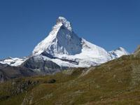 View of the Matterhorn from the Holbalm Plateau
