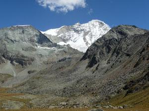 Close-up of the Weisshorn