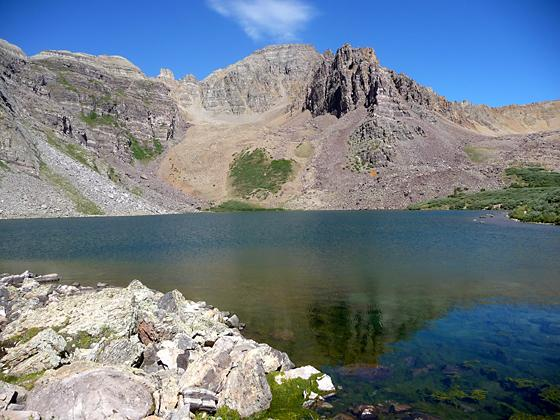 Cathedral Peak from Cathedral Lake