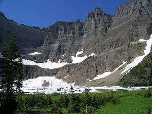 View of Iceberg Peak and Iceberg Lake