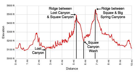Lost Canyon / Big Spring Canyon Loop