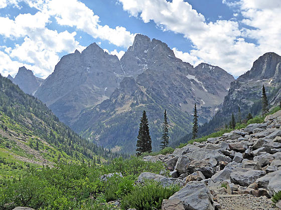 Teewinot Mountain, Mount Owen and Grand Teton