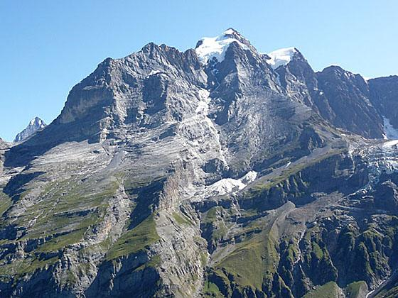 The Jungfrau from Tanzbodeli